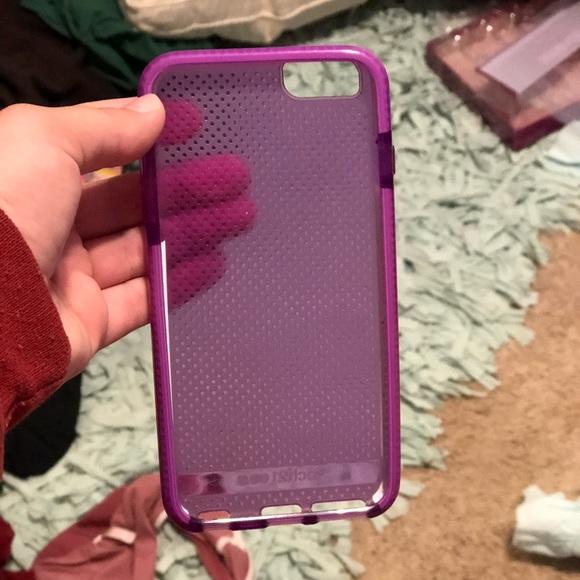 new arrivals 466eb 12d2c Purple tech 21 iPhone 7 Plus phone case